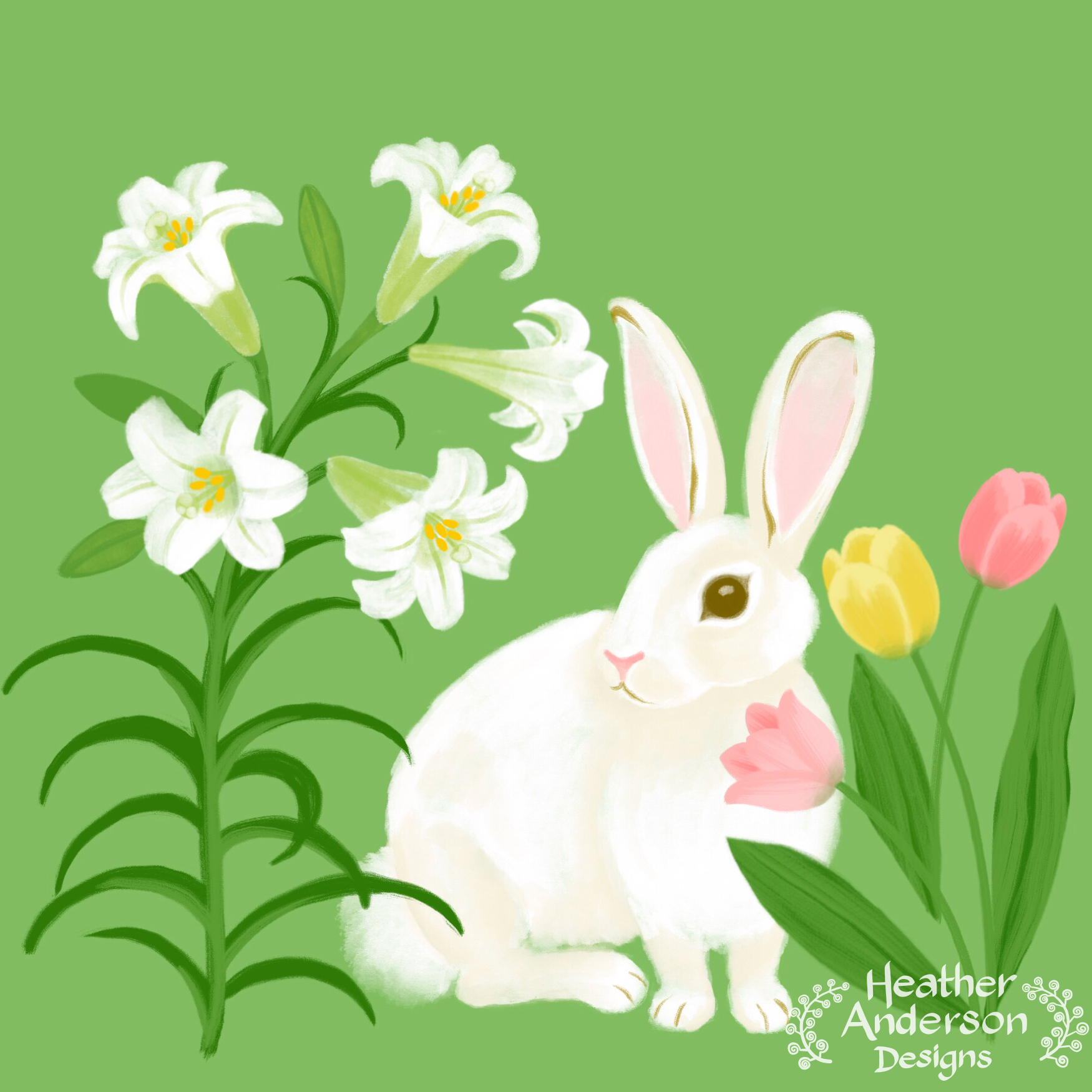Heather Anderson Easter Rabbit