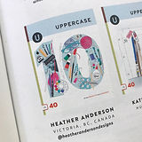 UPPERCASE 10 Anniversary Heather Anderso