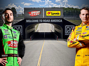 FRM Heads to Road America with Confidence in McDowell and Alfredo
