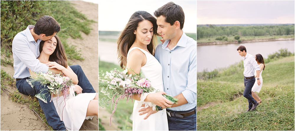 River Engagement, Lisa Catherine Photography, Saskatoon Wedding Photographer