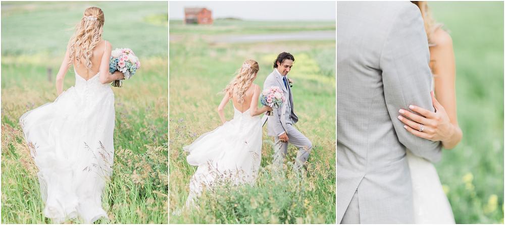 Saskatchewan Prairie Wedding