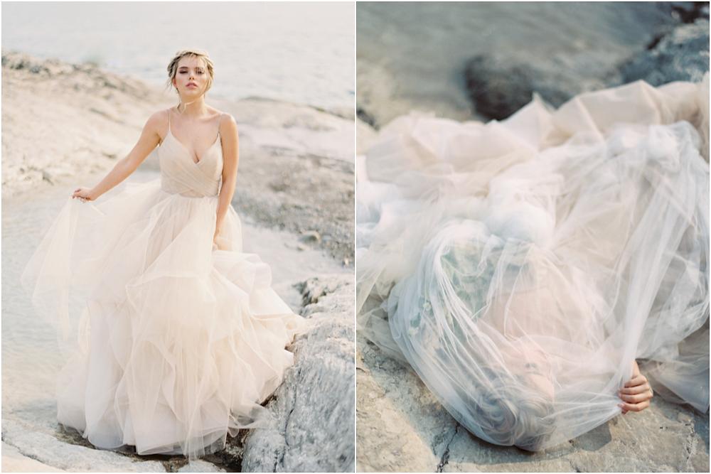 Lake Minnewanka Wedding Portraits