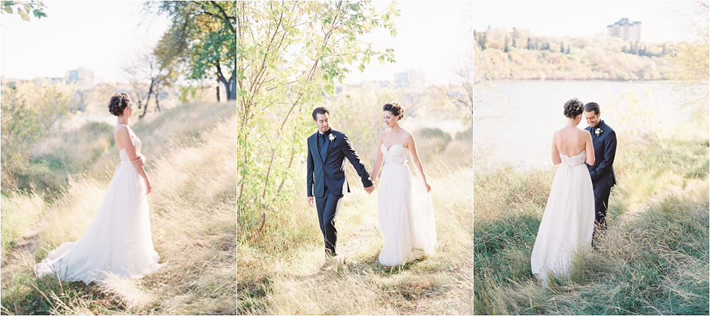 Saskatoon River Wedding