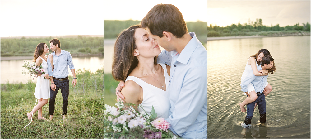 Saskatoon Beach Engagement, Lisa Catherine Photography, Saskatoon Wedding Photographer