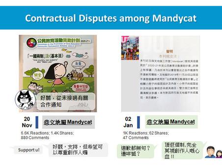 Contractual Disputes among Mandycat