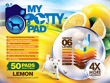 MY POTTY PAD (Lemon) packaging (50) FA-0