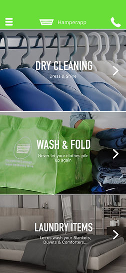 Hamperapp On Demand Laundry & Dry Cleaner
