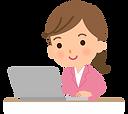 desk-work_business-woman_illust_2060.png