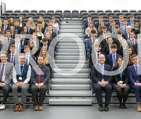 Whole Sixth Form Group Photograph (with mount)