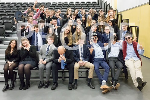Year 13 'Fun' Group Photo (without mount)