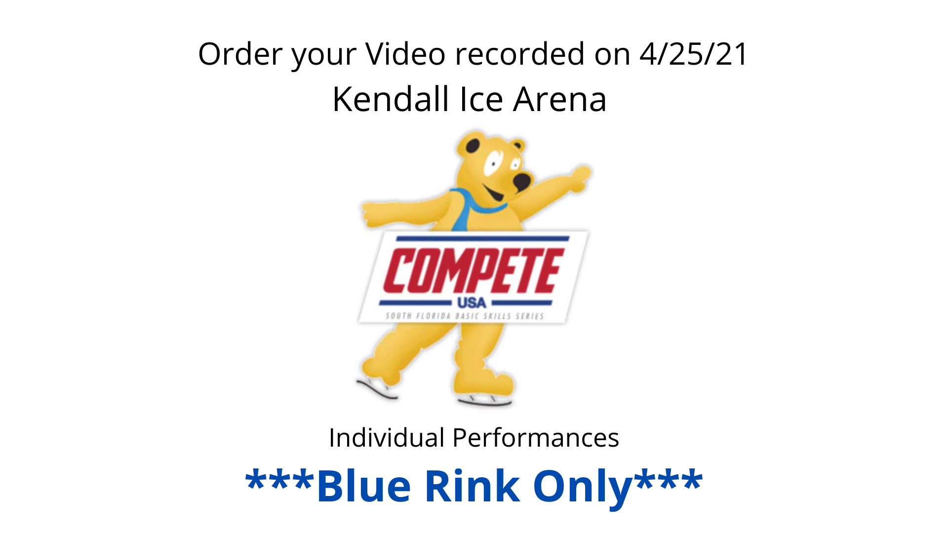 Order Your Video - Compete USA