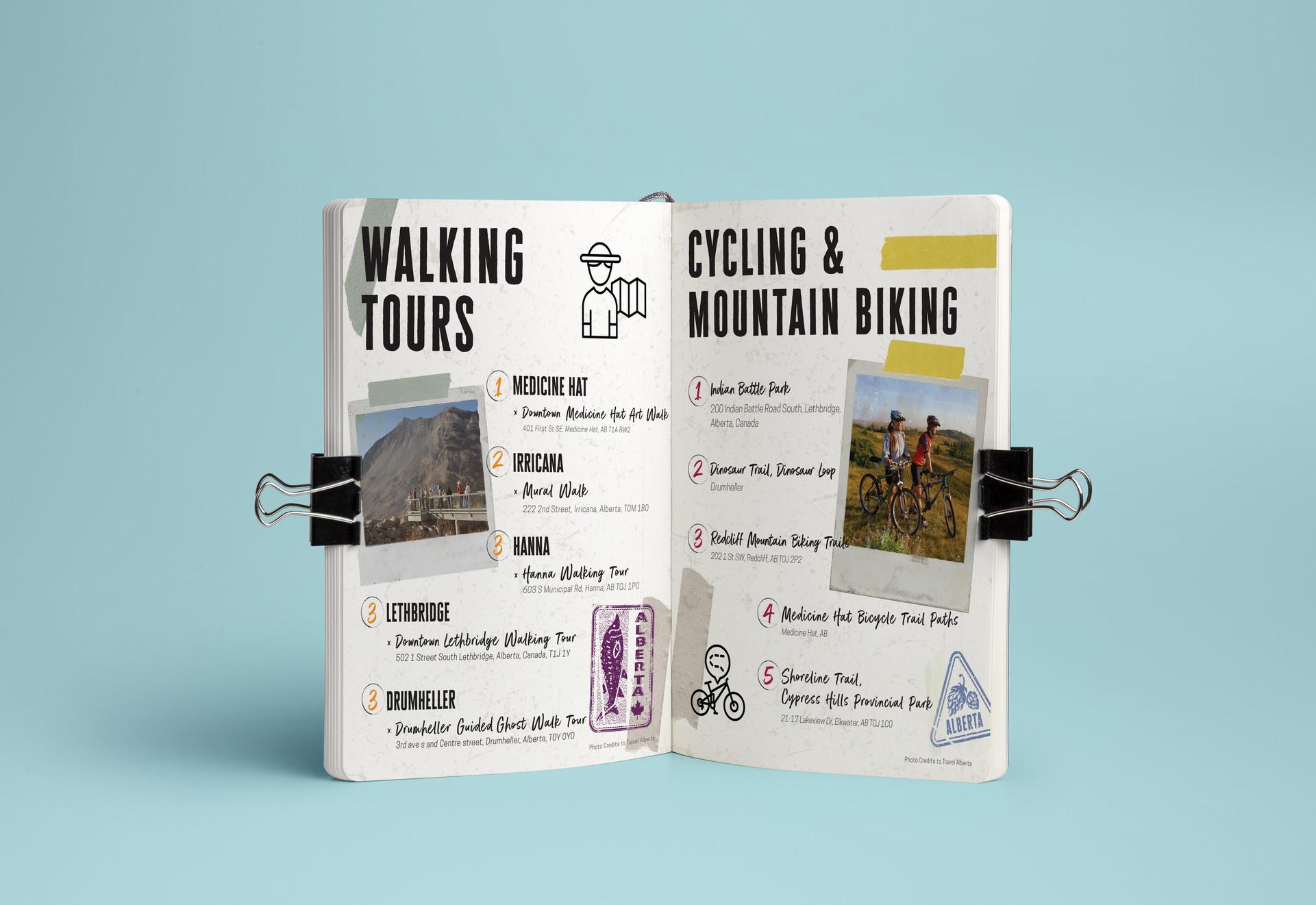 CB WALKING TOURS/CYCLING