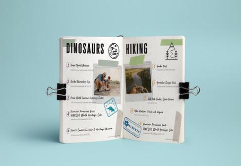 CB DINOSAURS/HIKING