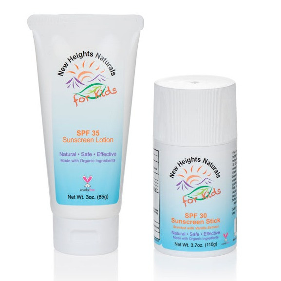 nonnano mineral sunscreen by New Heights Naturals