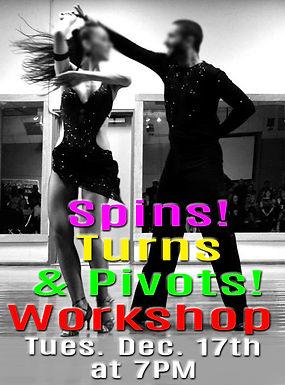 Spins! Turns! & Pivots! workshop 12-17-1