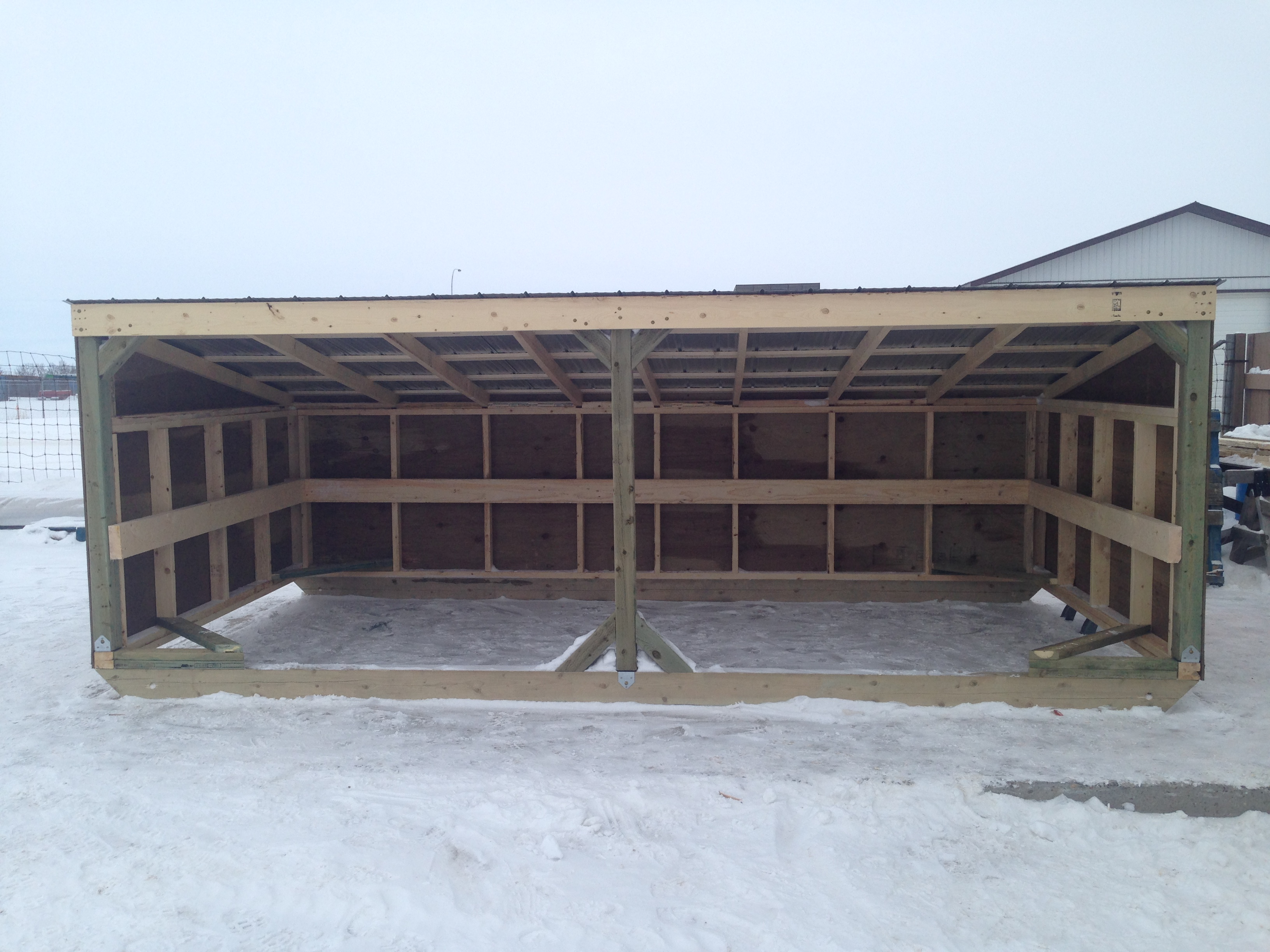 Customizable Calf Shelter/Feed Bunks