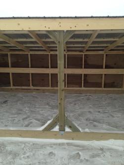 Calf Shelter Interior