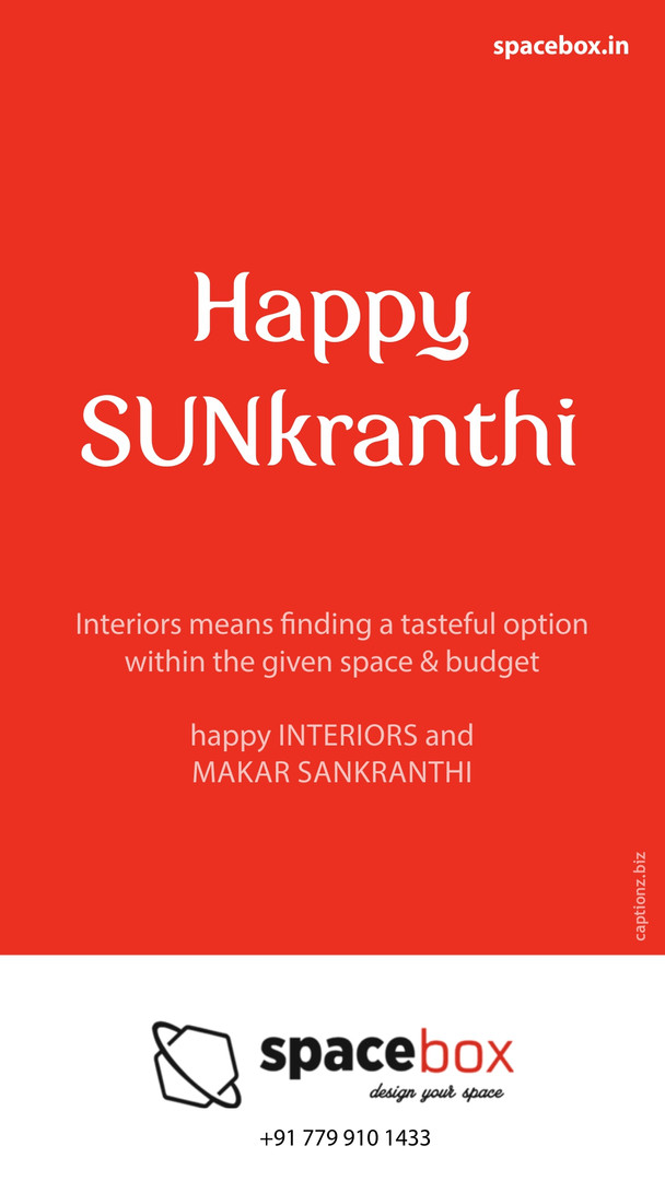 spacebox sankranti
