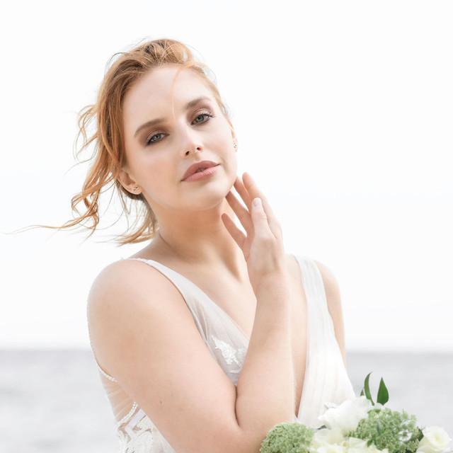 Photo:  Studio Six Weddings @studiosixweddings Makeup & Hair: Lesley-Ann Maltar Gown:  Saratina Bridal @saratinabridal Model: Monique Felcenloben @mon.vie
