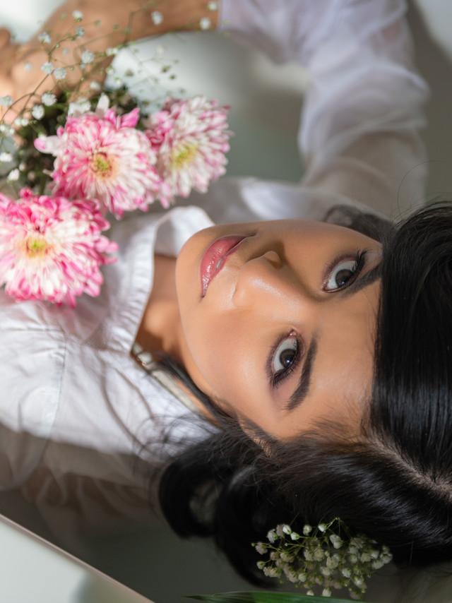 Photo:  Fefe Flores, Flores Photography @floresphotography.ca Hair:  Lesley-Ann Maltar @lmaltar_beautypro Makeup:  Julia A. Shisgal, BeYoutiful @beyoutifulbyjulia Model:  Htut @htuthuthtut