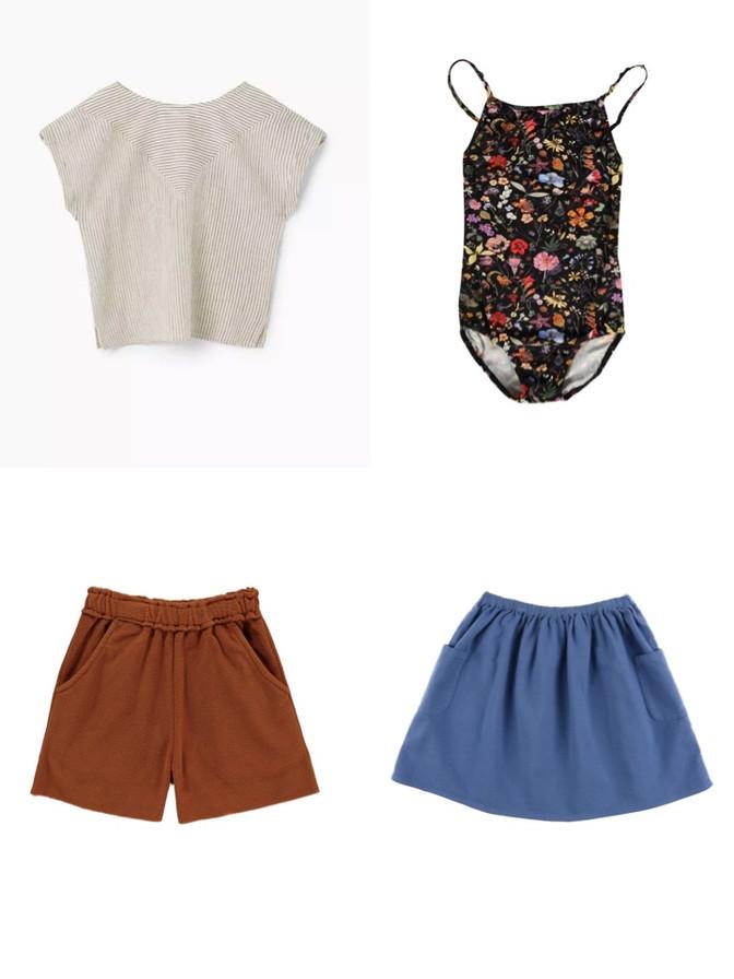 inspiration for a little summer wardrobe
