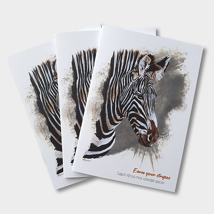 Zebra A6 Notebook
