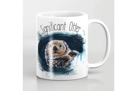 Otter Mug - My Significant Otter - for your significant other, lovers, friends and otter lovers
