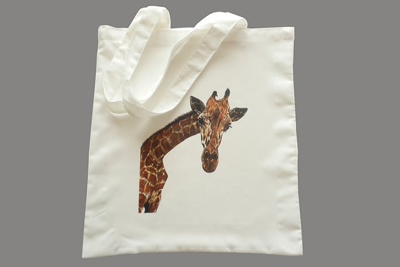 Giraffe Eco-Friendly Tote Bag for Life