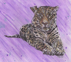 Jaguar Painting