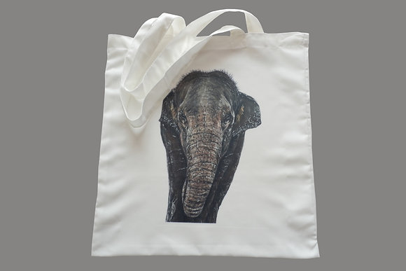 Elephant Eco-Friendly Tote Bag for Life