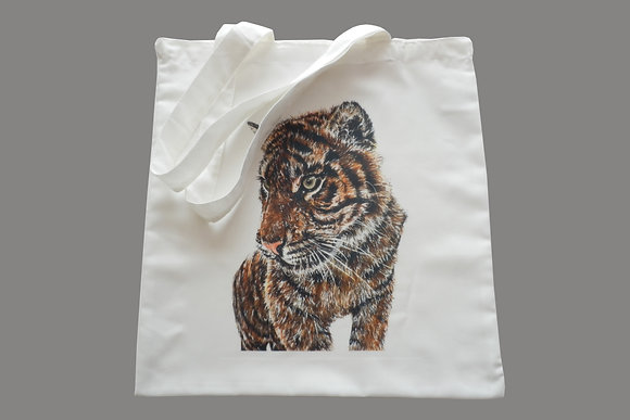 Tiger Eco-Friendly Tote Bag for Life