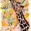 Thumbnail: Giraffe Blank Greetings Funny Card - Supports Conservation Charity