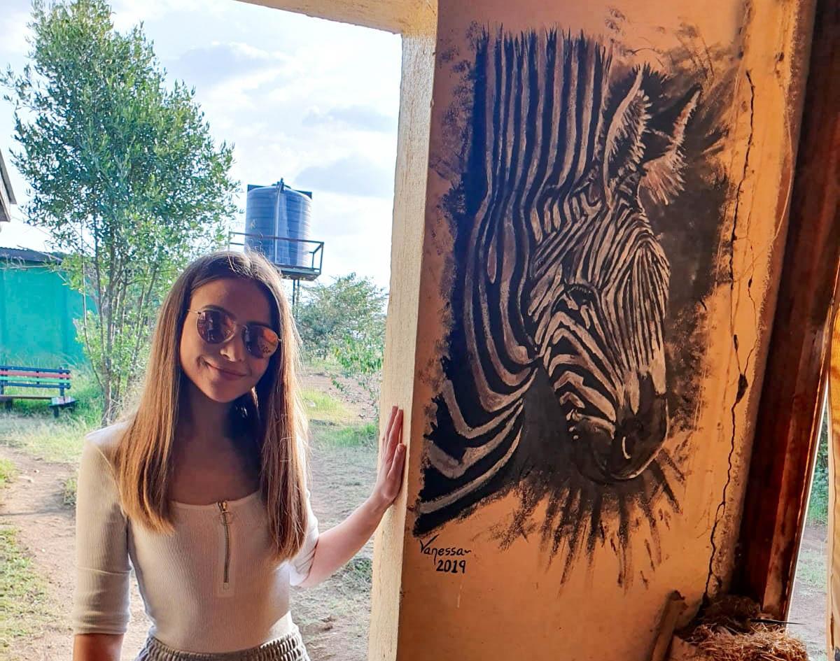 Wall Art, Naboisho Conservancy 2019