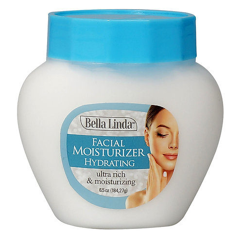 Bella Linda Skin Care Face Moisturizer Cream Lotion Hydration (6.5 oz)