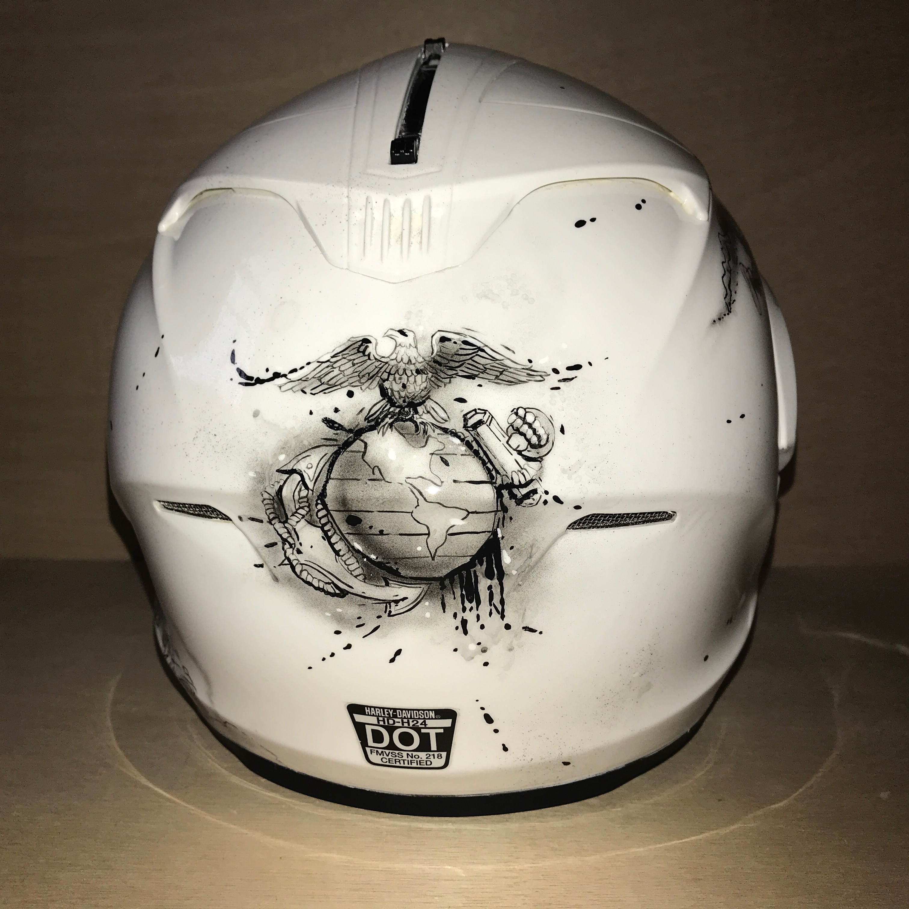 c84f970cf57c zombie soldier motorcycle helmet  zombie soldier motorcycle helmet ...