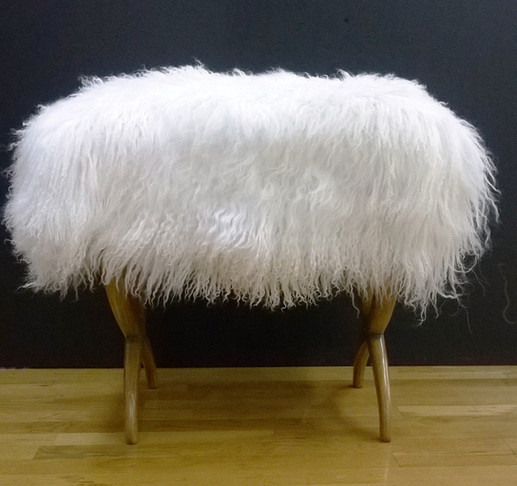 Lambskin Bench