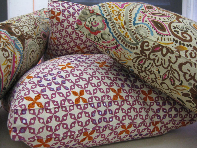 Boxed Throw Pillows