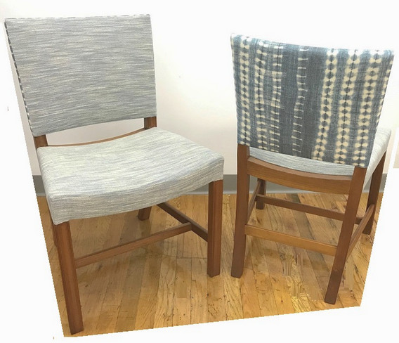 Chairs front and back