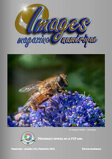 Images Magazine 115 couverture pour le s