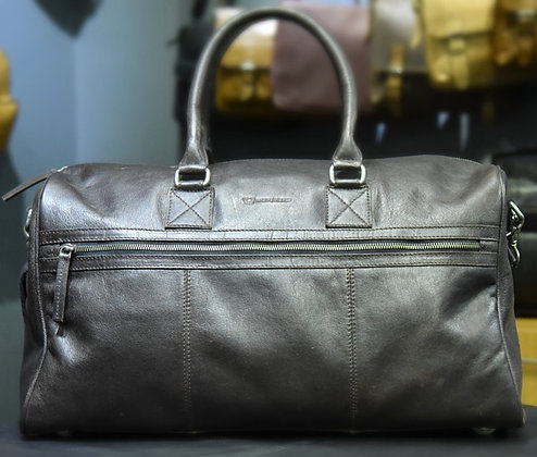 """ROOSEVELT"" Leather Holdall, 'BLACK' Analined Leather"