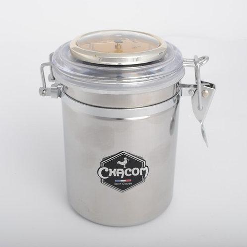 CHACOM Μεταλλικό δοχείο καπνού