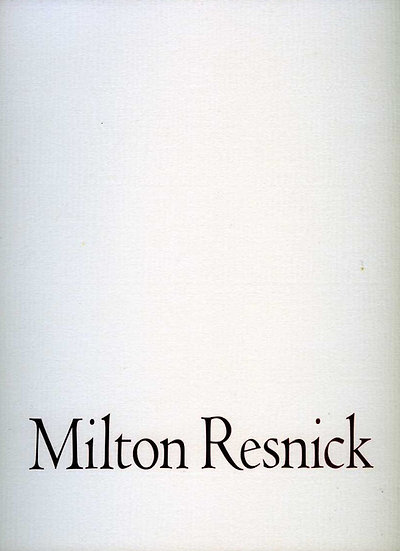 Milton Resnick: Paintings from 1957-1960