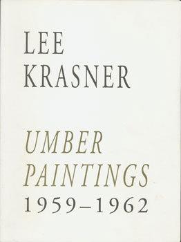 Lee Krasner, Umber Paintings 1959-62