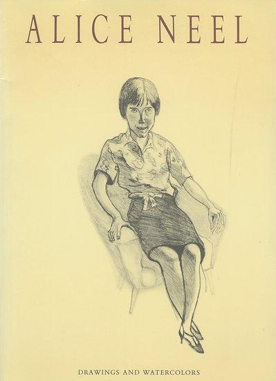 Alice Neel Drawings and Watercolors
