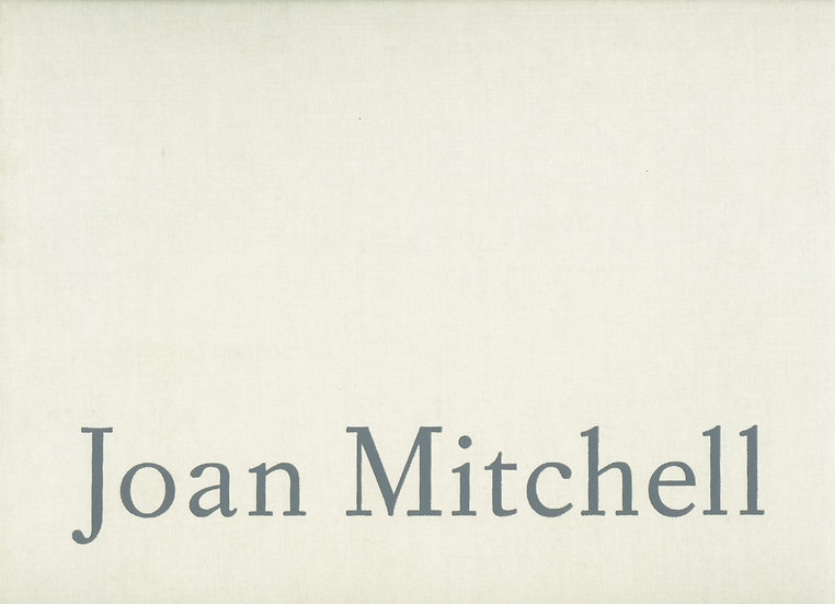 Joan Mitchell 1989