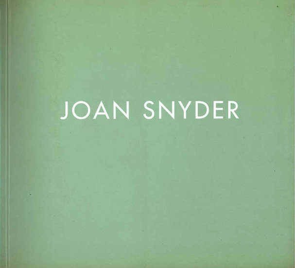 Joan Snyder: Primary Fields