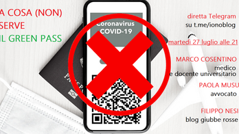 A cosa (non) serve il Green Pass: live su Telegram