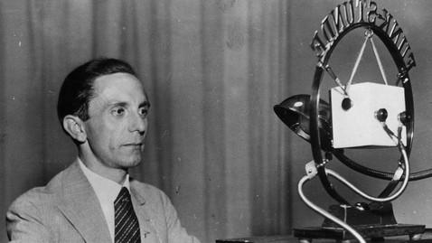Goebbels e l'arte oscura della manipolazione
