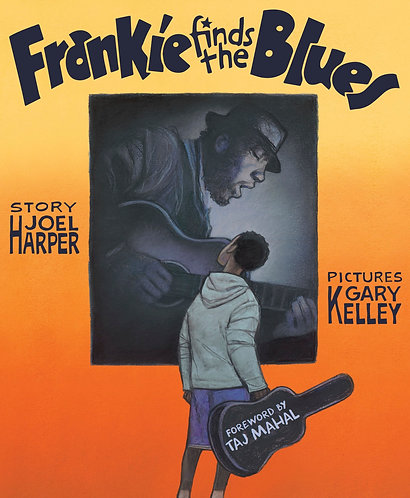 Frankie Finds the Blues Book (Signed!)