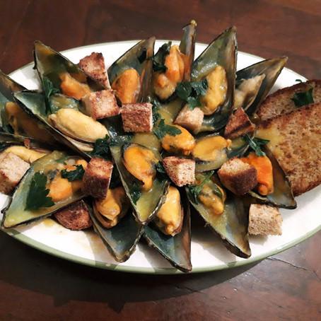 Cozze Speziate al sapore di Curcuma e Curry